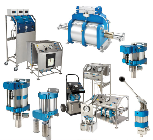 Building-of-air-driven-pumps