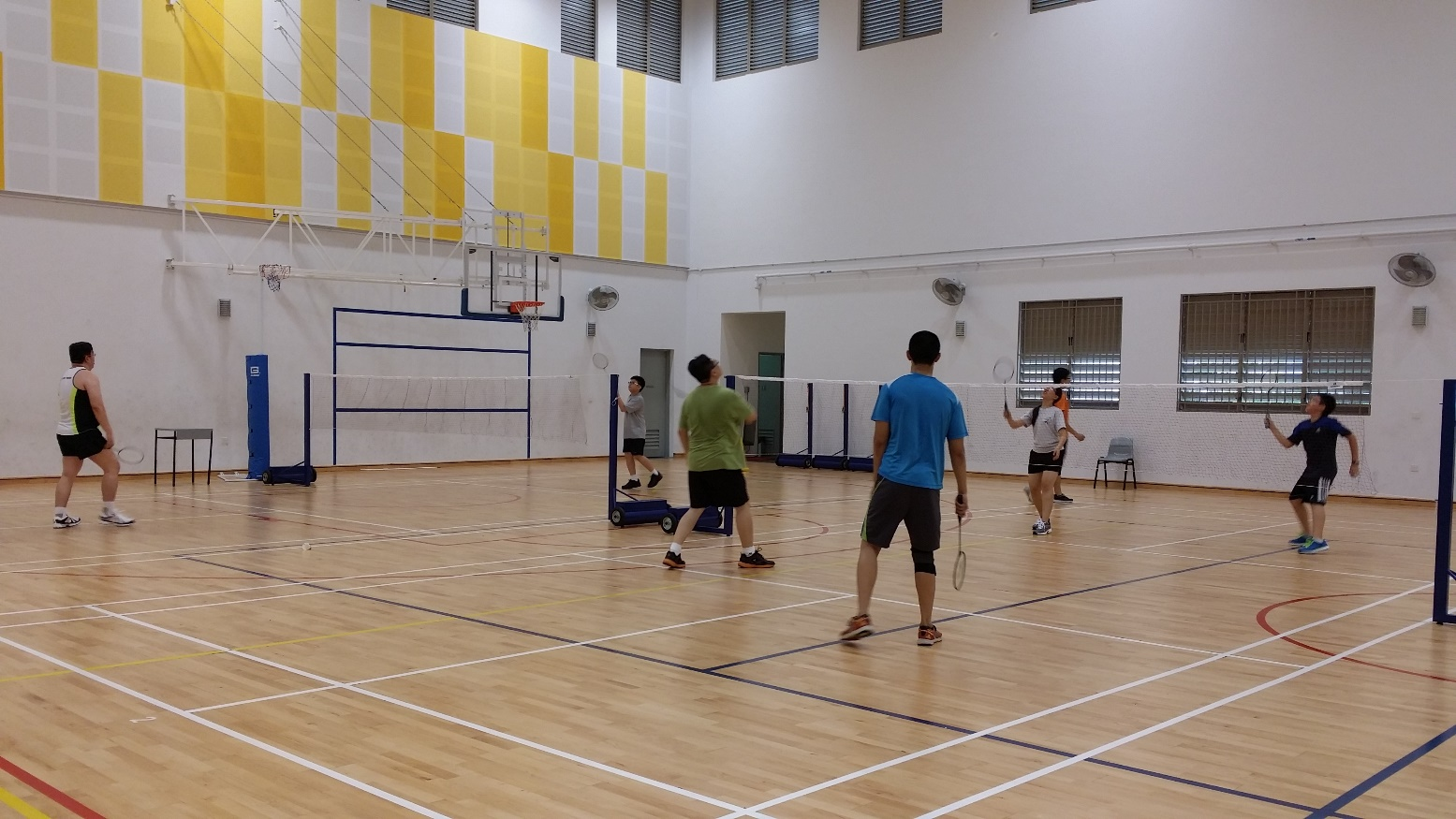 Keeping Active And Staying Healthy  Join Us For Our Badminton Games!