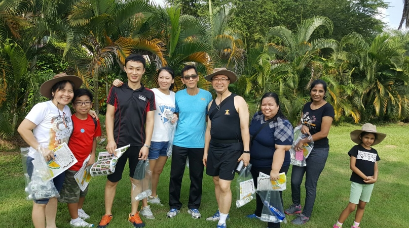 Nature Walk With Eligo Family… Within A Beautiful Golf Course!